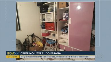 Corpo de comerciante desaparecida em Guaratuba é encontrado em Santa Catarina - Ela ficou dois dias desaparecida.