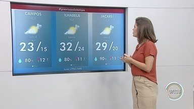 Confira previsão do tempo para esta segunda-feira - Previsão é com base nos dados do Cptec/Inpe.