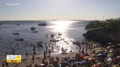 Baianos se despedem e aproveitam o último fim de semana do verão 2018/2019 - A estação é a preferida da maioria dos baianos.