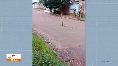 Morador preocupado envia vídeo mostrando condições de bueiro aberto em Palmas - Morador preocupado envia vídeo mostrando condições de bueiro aberto em Palmas