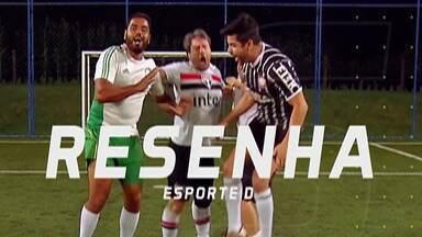 Resenha 2019: Confira os comentários sobre o Paulistão - São-paulino Fred Rezende teve que pagar aposta após derrota para o Palmeiras no clássico. Corinthians vence e se classifica.