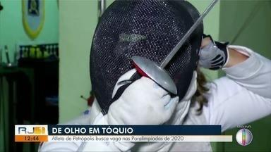 Atleta de Petrópolis busca vaga nas Paralimpíadas 2020 - Assista a seguir.
