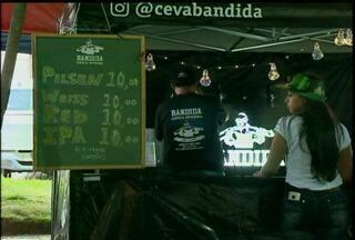 4ª Festival de Cervejas da Campanha movimenta o Largo do Centro Administrativo de Bagé, RS - O evento terminou neste domingo (17).