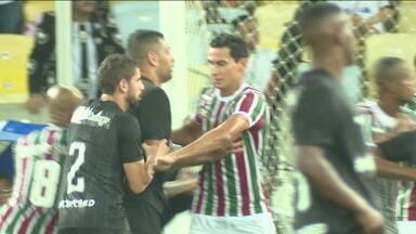 Com gol de Ganso e assistência de Diego Souza, Fluminense e Botafogo ficam no 1 x 1 pelo Carioca - Com gol de Ganso e assistência de Diego Souza, Fluminense e Botafogo ficam no 1 x 1 pelo Carioca