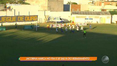 Jacobina vence o Conquista por 2 a 1 e foge do rebaixamento do Campeonato Baiano - Veja os destaques da partida.