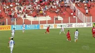 Vila Nova só empata diante do Itumbiara no OBA - Tigre e Gigante ficam no 1 a 1