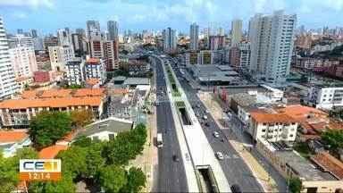 Maioria dos ônibus não usa corredor expresso da Av. Aguanambi - Confira outras notícias no g1.com.br/ce