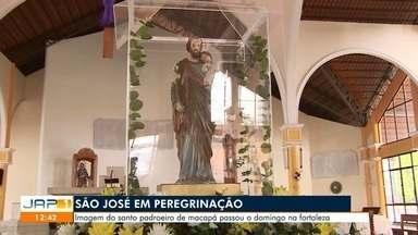 Padroeiro de Macapá e do Amapá, São José é homenageado com 12 horas de festa religiosa - Programação inicia às 7h30 e segue até 19h de terça-feira (19).