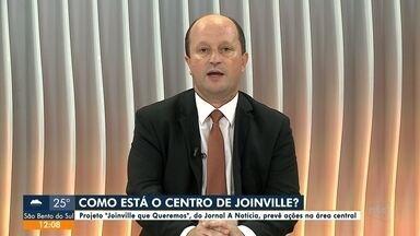 """Projeto """"Joinville que Queremos"""" prevê ações na área central - Projeto """"Joinville que Queremos"""" prevê ações na área central"""