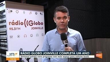 Rádio Globo completa 1 ano com novidades - Rádio Globo completa 1 ano com novidades