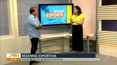 'Esporte no JT': jogos das equipes santarenas, análises e classificação no Parazão - Nelson Mota e Tatiane Lobato comentam as principais notícias do esporte da região.