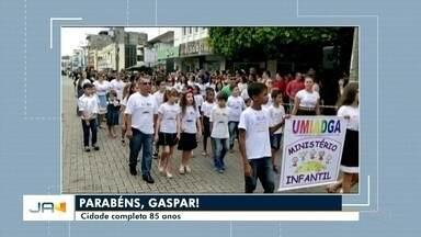 Gaspar celebra 85 anos nesta segunda-feira (18) - Gaspar celebra 85 anos nesta segunda-feira (18)