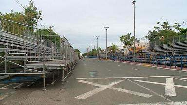 A três dias do Carnaval de Uruguaiana, evento movimenta economia da cidade - Hotéis já estão com poucos lugares para hospedagem.