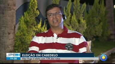 JPB2JP: Entrevista ao vivo com o prefeito eleito de Cabedelo - Vitor Hugo é do PRB.