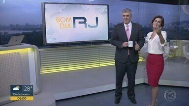 Bom Dia RJ - Edição de terça-feira, 19/03/2019 - As primeiras notícias do Rio de Janeiro, apresentadas por Flávio Fachel, com prestação de serviço, boletins de trânsito e previsão do tempo.