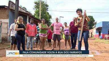Moradores de Porto Velho se reúnem para resolver problemas da região - Veja o caso da semana no quadro Fala Comunidade