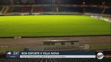 Equipes se preparam para a última rodada da primeira fase do Campeonato Mineiro - Equipes se preparam para a última rodada da primeira fase do Campeonato Mineiro