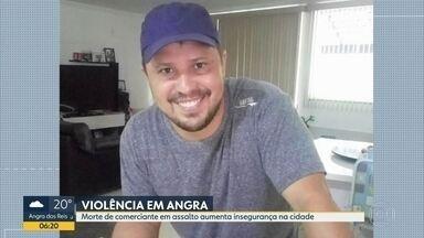 Comerciante é morto a tiros em assalto em Angra dos Reis - Crime aumentou insegurança na cidade.