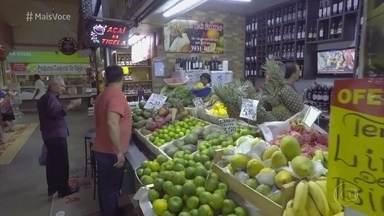 Mercadão de Goiás é uma das principais atrações de Goiânia - Público do mercado aproveita para fazer compras, passear e conhecer produtos típicos locais