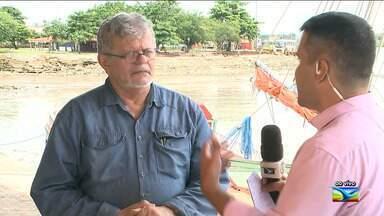 Especialista explica sobre o fenômeno da 'superlua' em São Luís - O repórter Olavo Sampaio possui mais informações.