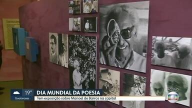 Hoje é o dia mundial da poesia - Tem exposição sobre Manoel de Barros em São Paulo