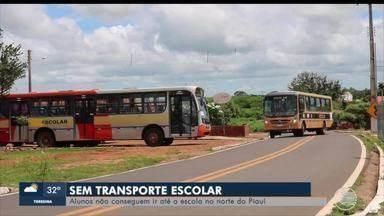 Alunos estão sem transporte escolar no Norte do Piauí - Alunos estão sem transporte escolar no Norte do Piauí