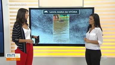 Previsão do tempo: Defesa Civil faz balanço das chuvas em Salvador - O primeiro dia do outono deixou os moradores da Cidade Baixa em alerta.