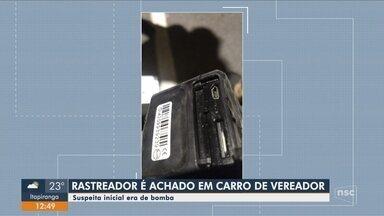 Bope é acionado por suspeita de bomba em carro de vereador no Centro de Florianópolis - Bope é acionado por suspeita de bomba em carro de vereador no Centro de Florianópolis