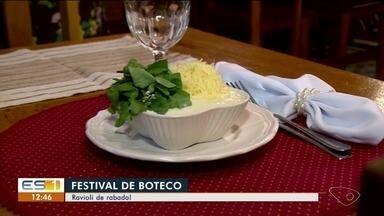 Festival de Boteco no Norte do ES: confira a receita do ravioli de rabada - Veja o passo a passo desse prato.