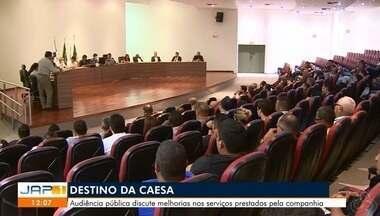 Justiça Federal realizou nesta quarta-feira uma audiência para discutir o destino da Caesa - Audiência pública discute melhorias nos serviços prestados pela companhia.