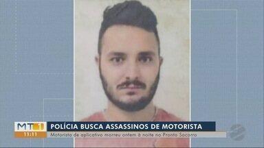 Polícia procura assassinos de motorista de aplicativo - Polícia procura assassinos de motorista de aplicativo.