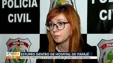 Denúncia de estupro dentro de hospital de Itapajé - Outras informações no g1.com.br/ce