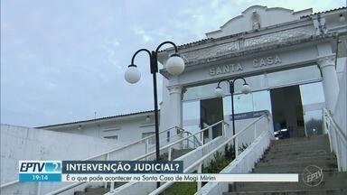 Sem acordo com Prefeitura, Santa Casa de Mogi Mirim pode sofrer intervenção judicial - Com dívidas e falta de pagamento, unidade médica está com setores paralisados e atendimento à população está prejudicado.