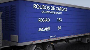 Jacareí está na rota das quadrilhas de roubo de carga - Isso é motivo de preocupação dos caminhoneiros que circulam por aqui.