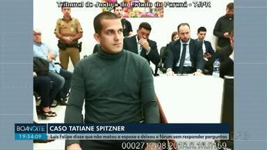 Caso Tatiane Spitzner: Em audiência Luis Felipe Manvailer nega ter matado esposa - Juíza ainda não definiu se o réu vai a juri popular.
