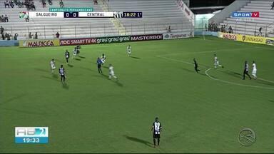 Central é eliminado do Campeonato Pernambucano - Patativa perdeu para o Salgueiro.