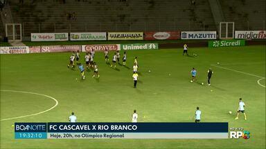FC Cascavel encara o Rio Branco e precisa vencer para ter chances no segundo turno - O Toledo e o CR jogaram ontem. O Toledo empatou e o Cascavel CR venceu o Coritiba.
