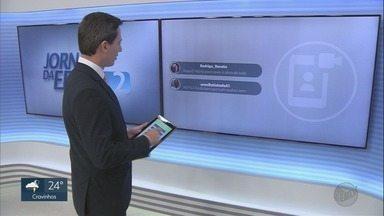 Veja os comentários dos telespectadores no EPTV2 nesta sexta-feira (22) - Você também pode participar com a #EPTV2 pelo Twitter.