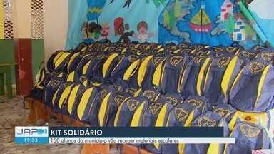 Voluntários entregam 150 kits pedagógicos para crianças carentes em Macapá - Ação educacional beneficiou estudantes da escola Professora Eunice das Chagas Fernandes Sousa, na Zona Norte da capital.