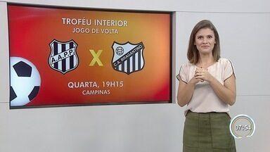 Bragantino enfrenta a Ponte Preta no Troféu do Interior - Campeão levará R$ 360 mil e terá direito a uma vaga na Copa do Brasil do próximo ano.