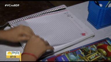 Aulas ainda não começaram em escola no bairro do Telégrafo em Belém - Algumas turmas seguem sem aulas, enquanto outras já começaram a estudar.