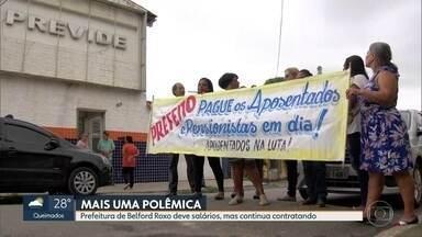 Prefeito de Belford Roxo contrata assessores para assuntos religiosos - Aposentados e pensionistas do município estão com salários atrasados