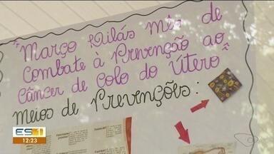 Março tem alerta para os riscos do câncer de útero - Campanha de prevenção acontece no Sul do Espírito Santo.