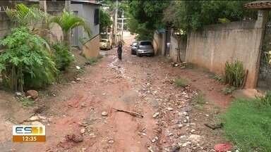 Calendário volta pela quarta vez no Gilson Carone, em Cachoeiro de Itapemirim, ES - Situação em bairro preocupa moradores.