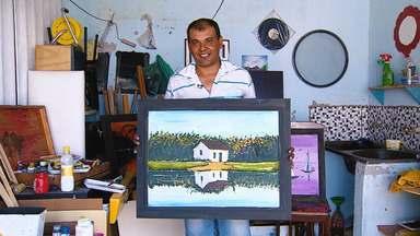 Com sobras, Eliezer faz Obras, de Arte e inspiração de vida - Com sobras, Eliezer faz Obras, de Arte e inspiração de vida.