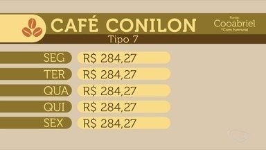 Confira a cotação do café no Espírito Santo - Veja como o mercado se comportou durante a semana.