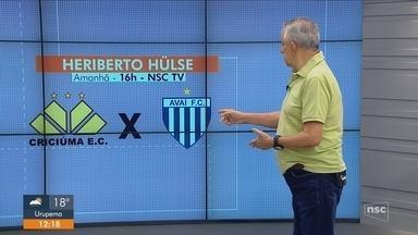 Roberto Alves analisa a rodada do estadual; Avaí visita o Criciúma, e Figueira pega o JEC - Roberto Alves analisa a rodada do estadual; Avaí visita o Criciúma, e Figueira pega o JEC