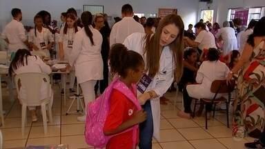 """Projeto em Rio Preto tem como objetivo oferecer serviços e promover ações sociais - Projeto """"Gerando Cidadania"""" tem como objetivo oferecer serviços e promover ações sociais em São José do Rio Preto (SP)."""