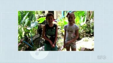 O Júnior, o Kevyn e a Emily chamam os intervalos do Meio-Dia Paraná - Participe, envie seu vídeo para o número 45 9 9951-5958.