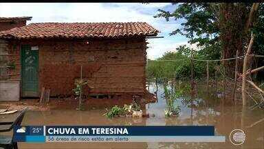 Após chuvas, Teresina possui mais de 50 áreas de risco - Após chuvas, Teresina possui mais de 50 áreas de risco